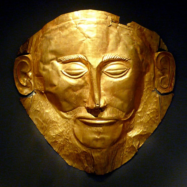 """Photo : """"MaskOfAgamemnon"""" by Xuan Che - Self-photographed (Flickr), 20 December 2010. Licensed under CC BY 2.0 via Wikimedia Commons."""
