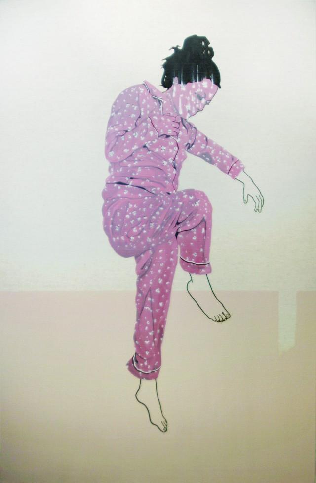 Crédit visuel : La chute, 2012. Cat Plourde © L'Artothèque