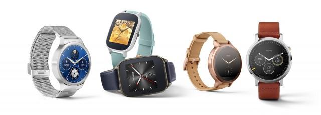 """alt=""""Nouvelles montres Android Wear"""""""
