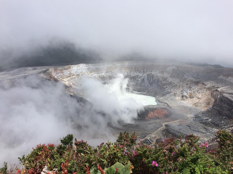 Volcan Paos. Photo : Marie-Julie Gagnon