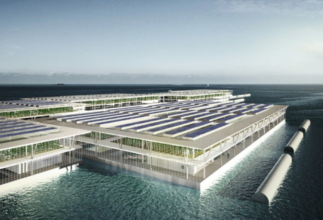 Photo: Smart Floating Farms