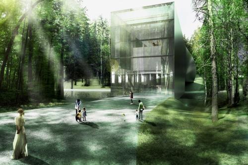 "alt=""Kistefos-Museum–Bjarke-Ingels-Group"