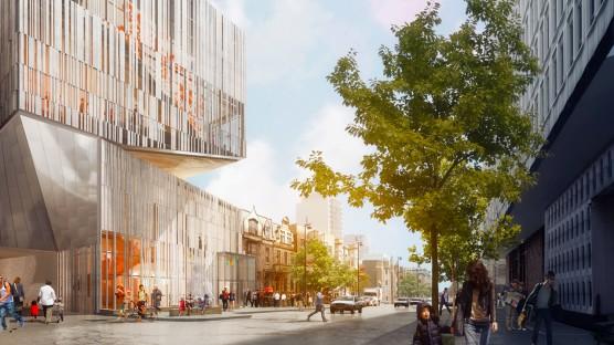 Photo: Doug & Wolf pour Atelier TAG / Jodoin Lamarre Pratte architectes en consortium