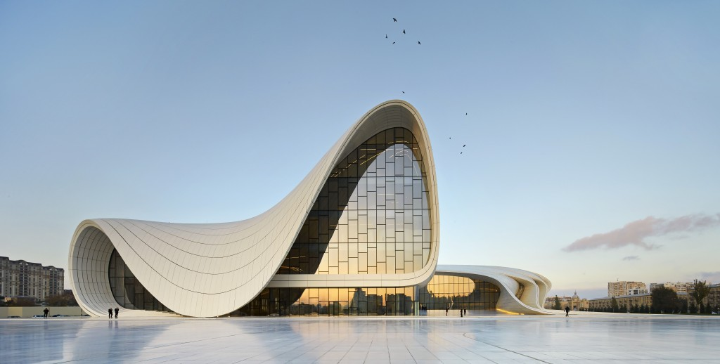 Le centre culturel Heydar Aliyev. Photo : Hufton+Crow.