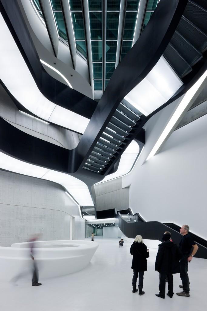 Musée MAXXI. Photo : Iwan Baan, gracieuseté de ZHA.