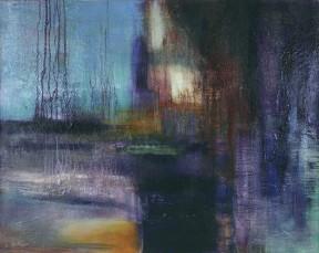 Multitude.Carmelle Dorion. Peinture sur toile. 81 cm x 101 cm. © L'Artothèque