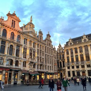 L'incontournable Grand-Place. Photo: Marie-Julie Gagnon