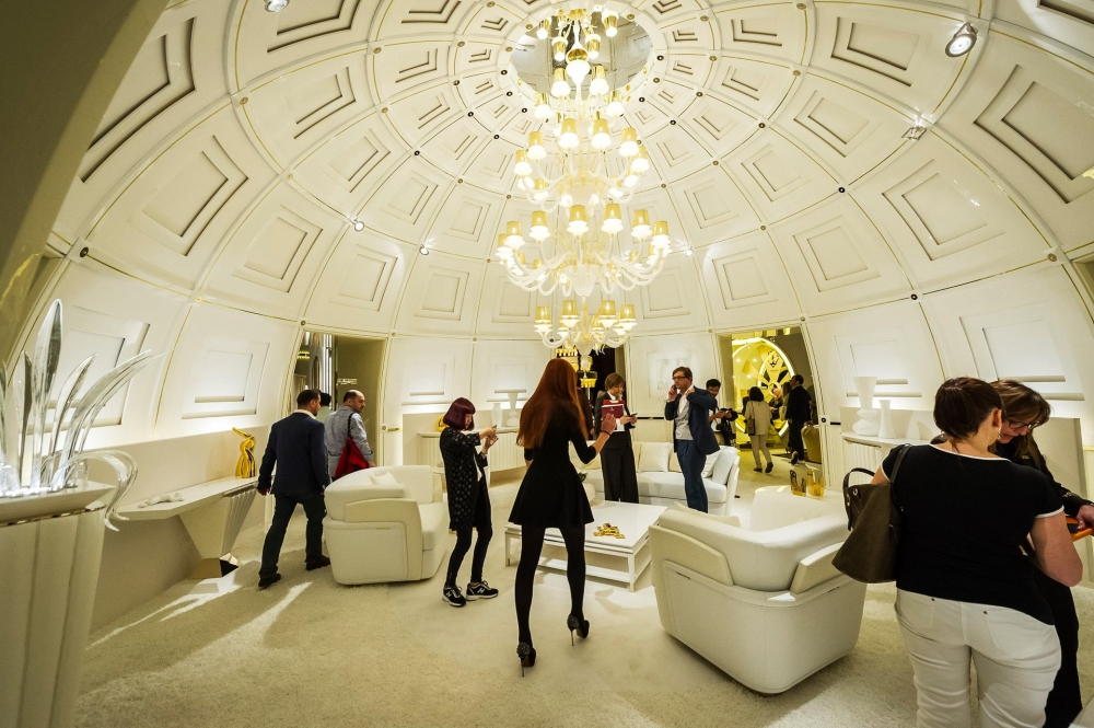 Retour sur le salon du meuble de milan avenues for Salon du meuble