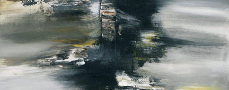 Tornade, 2011. Éric De Belleval. Acrylique sur toile. 91 x 121 cm. © L'Artothèque