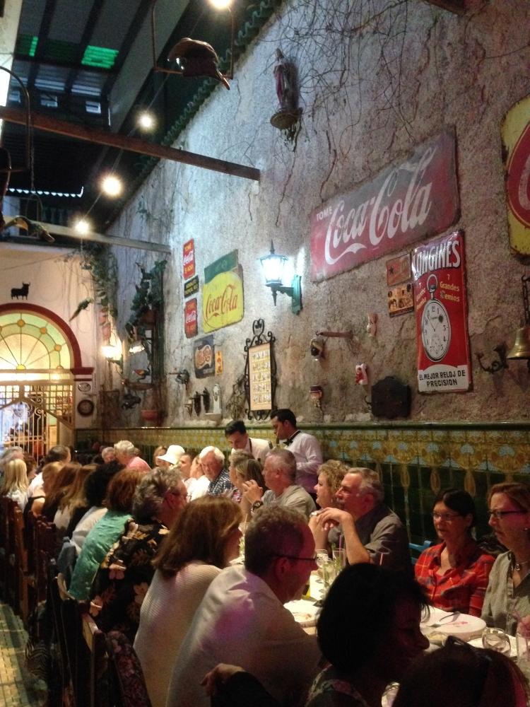 Salle à manger du San Cristobal. Photo: Véronique Leduc