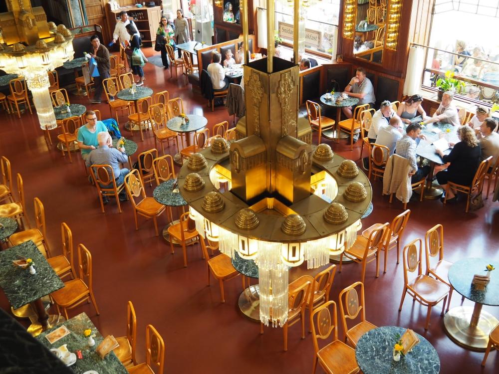 Le café de la Maison municipale. Photo: Marie-Julie Gagnon