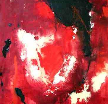 Pistil XXXIV. 2004. Lucie-Charlotte Mainville. Acrylique sur toile. 179 x 143 cm. © L'Artothèque