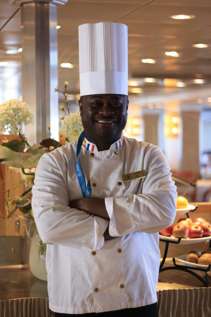 Le chef Francis A Itoumbou. Photo : Véronique Leduc