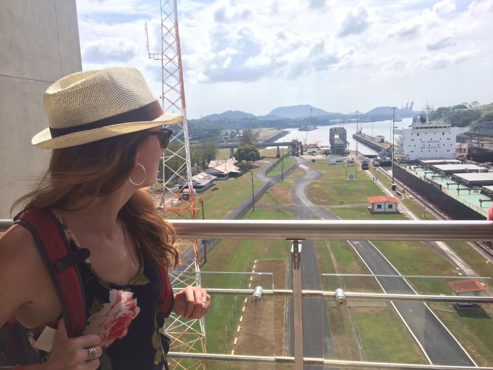 Au 4e étage du Centre des visiteurs Miraflores.