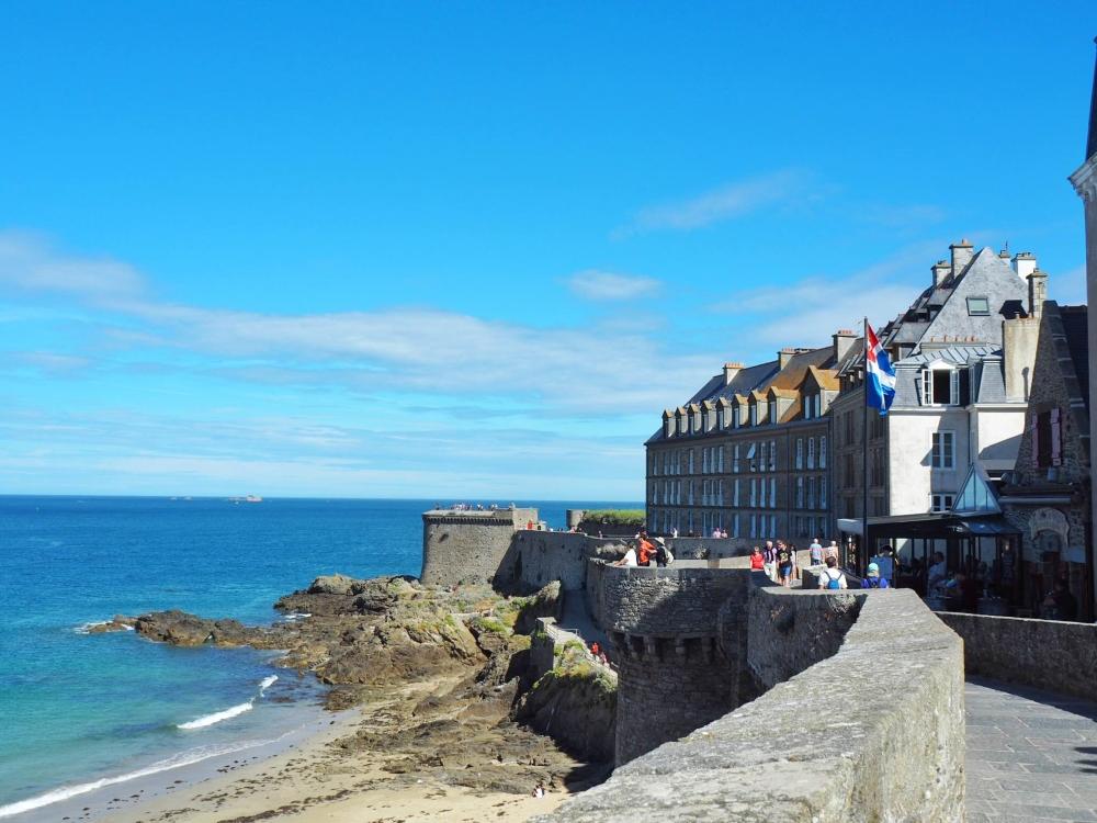 Détour à Saint-Malo. Photo: Marie-Julie Gagnon