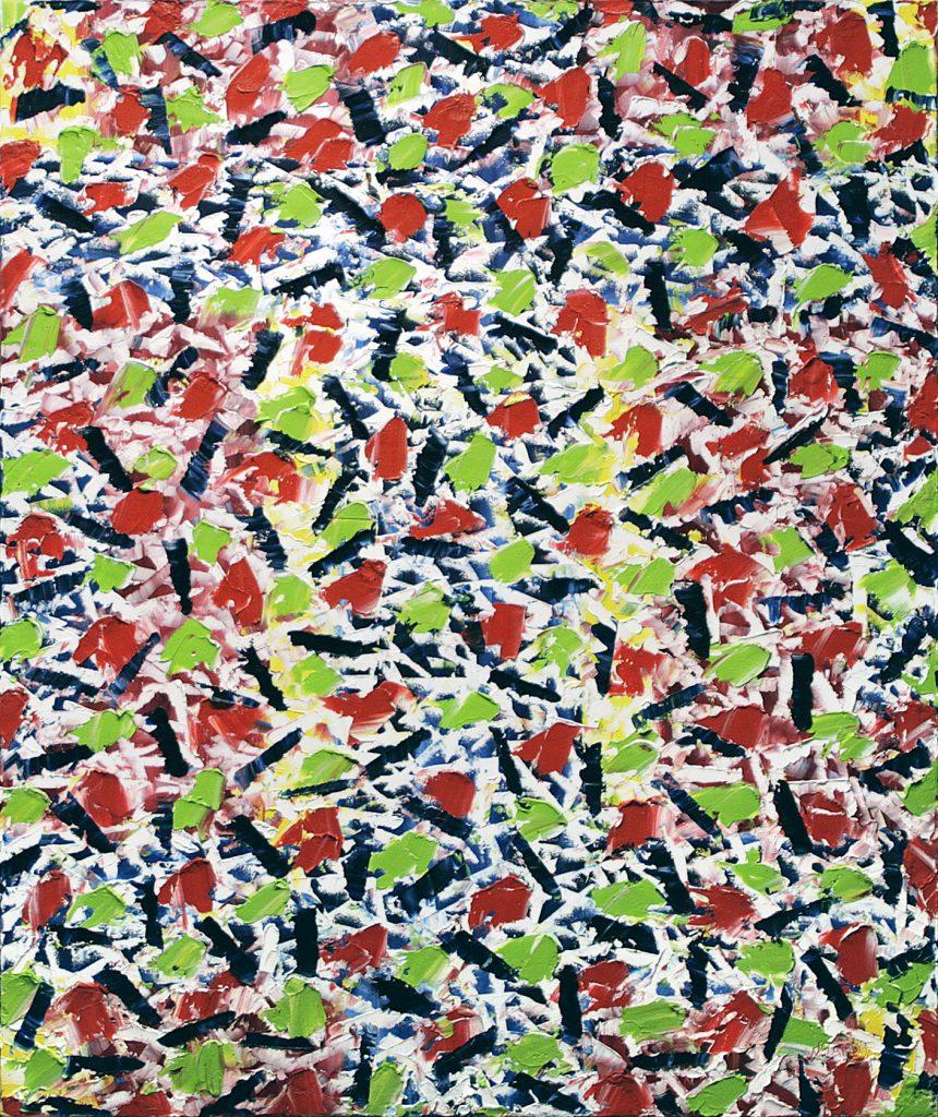 Les enclosures célestes, 2005. Nelson Tardif. Huile sur toile. 91.5cm x 76.5cm. © L'Artothèque