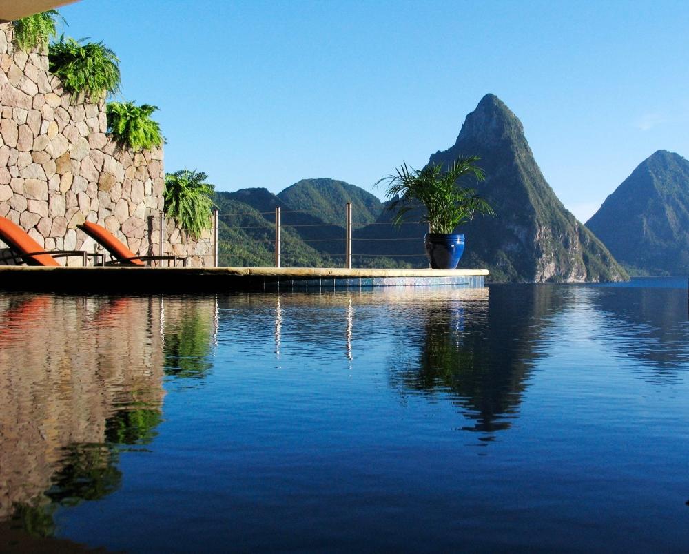 Photo: Facebook Jade Mountain St Lucia