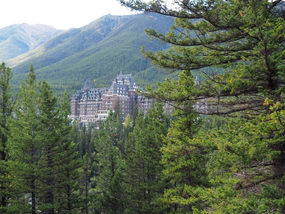 Hôtel Banff Springs. Photo: Marie-Julie Gagnon