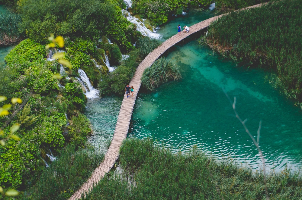 Parc national des lacs de Plitvice, Croatie. Photo: Dominik Lange, Unsplash.
