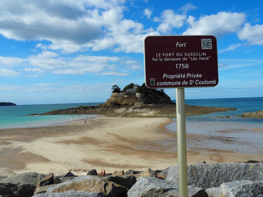 Le fort du Guesclin. Photo: Marie-Julie Gagnon.