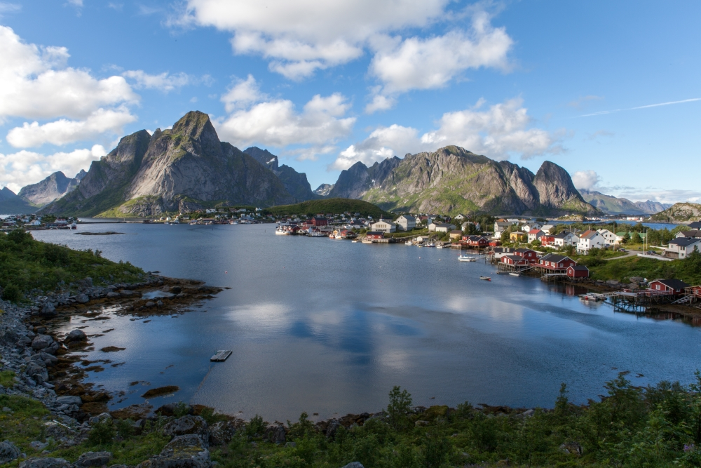 Lofoten, Norvège. Photo: Ivan Bertona, Unsplash.