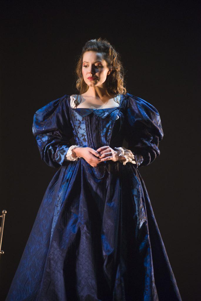 Christine, la reine-garçon, Michel Marc Bouchard. m.e.s. Serge Denoncourt, Théâtre du Nouveau Monde. Magalie Lépine-Blondeau. Photo © Yves Renaud, 2016