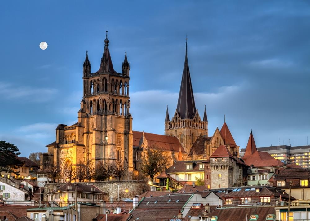 Cathédrale Notre-Dame de Lausanne. Photo: Deposit.