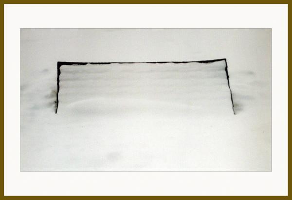 Bordure, 2004. Michel Leclair. Photographie. 47,5 x 63,7 cm. © L'Artothèque