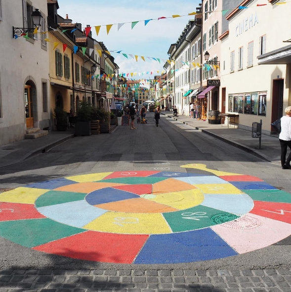Carouge, le «Greenwich Village» genevois. Photo: Marie-Julie Gagnon.