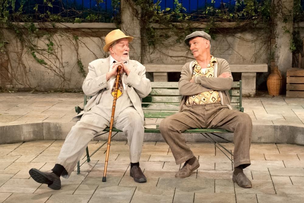 Michel Dumont et Guy Migneault, Les héros. Photo: Carole Laberge.