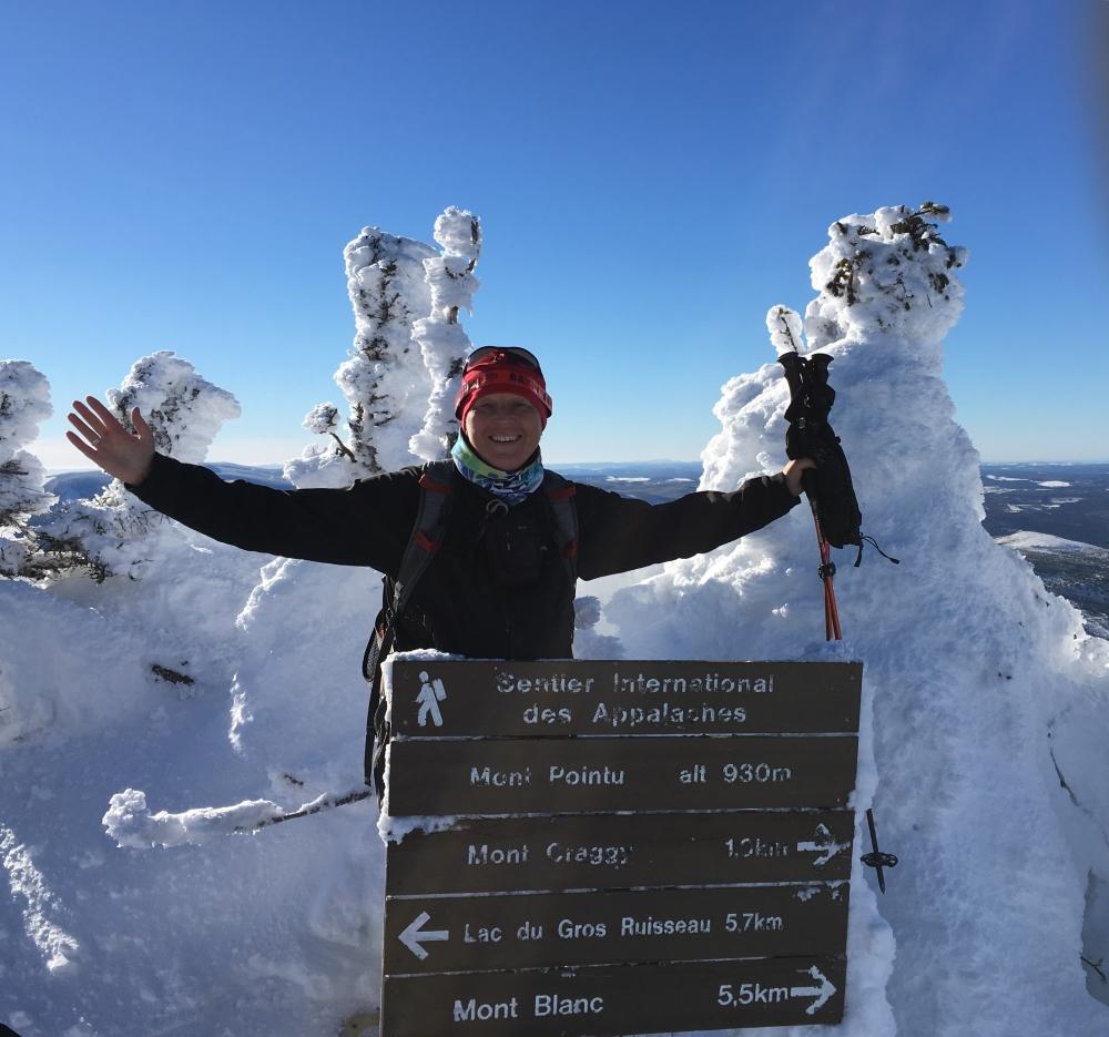 Au sommet du mont Pointu
