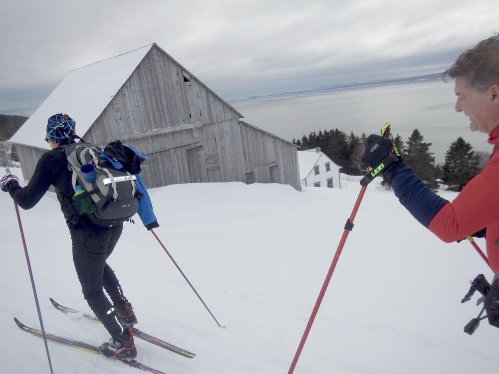 Ski à Forillon