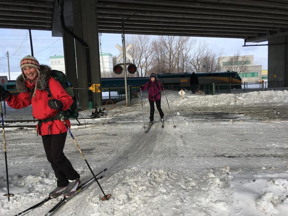 Ski à Québec
