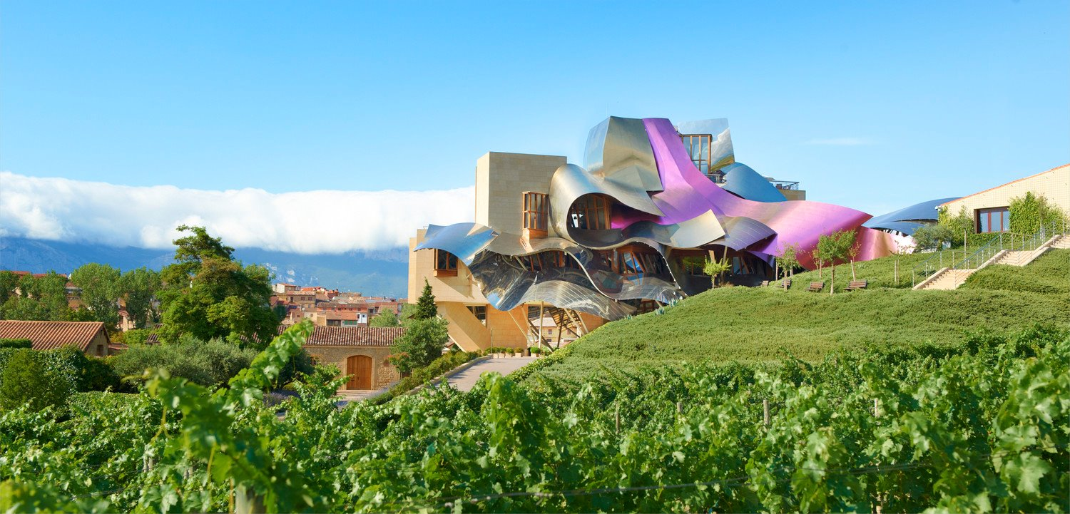 Photo: Facebook Marqués De Riscal a Luxury Collection Hotel