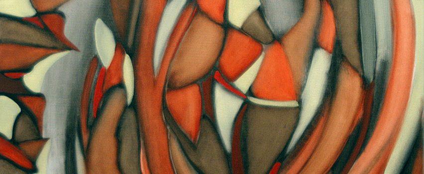 Sans titre, Pierre Otis. 2008. Huile sur toile. 91,5 x 60,7 cm. © L'Artothèque