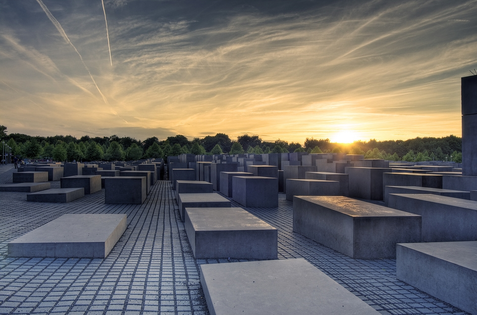 Mémorial de l'Holocauste à Berlin. Photo: Wolfgang Staudt, Flickr