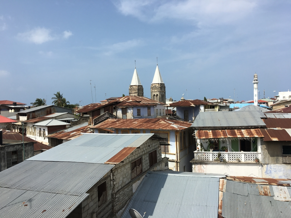 Vue sur Stone Town. Photo: Marie-Julie Gagnon