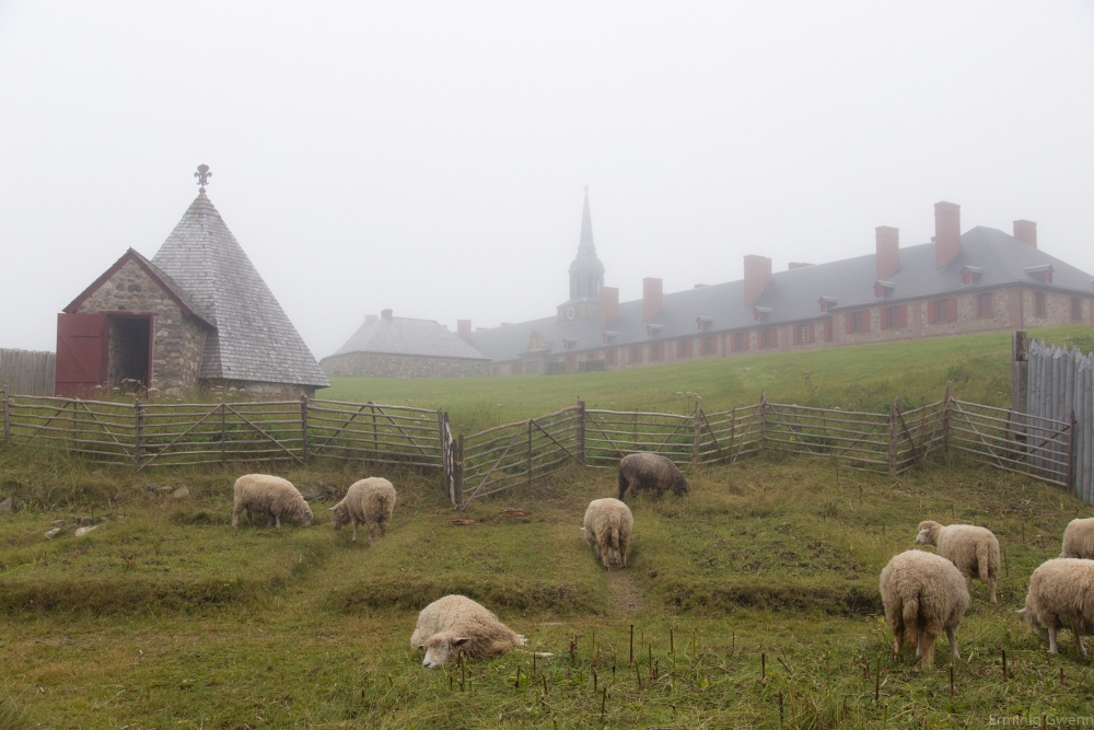 Forteresse de Louisbourg. Photo: Étienne Valois, Flickr