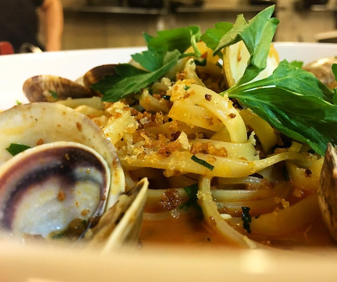 Linguini alla vongole du restaurant Nora Grey. Photo: Facebook Nora Gray Restaurant