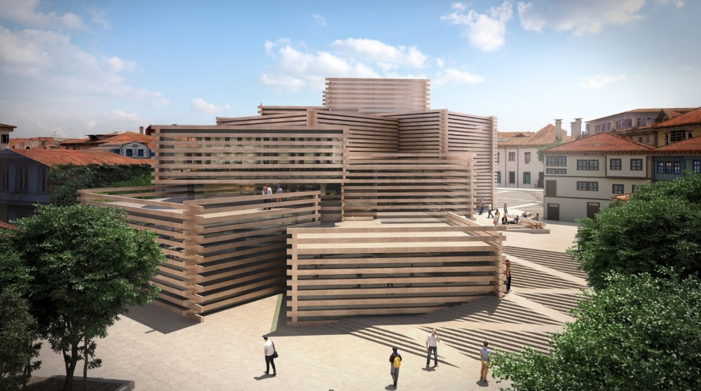 Photo: courtoisie Kengo Kuma and Associates