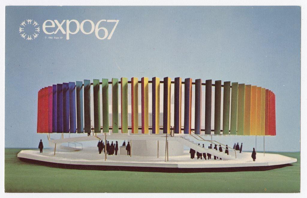 Compagnie canadienne de l'Exposition universelle de 1967. BAnQ