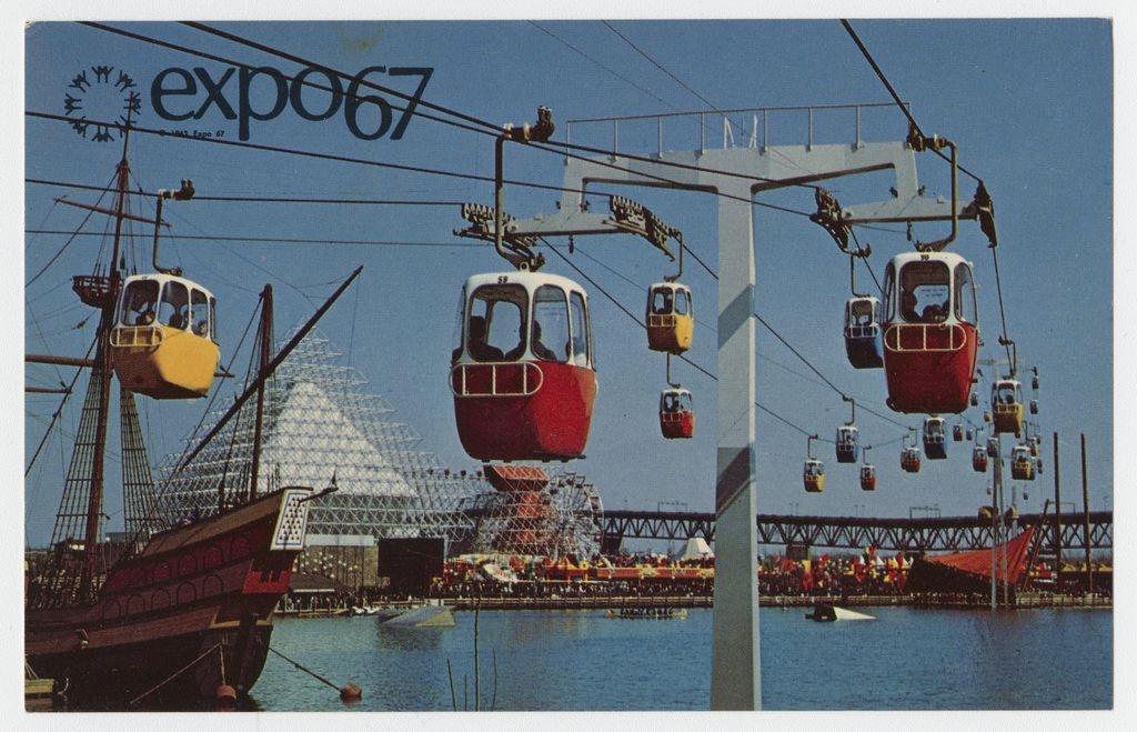 Compagnie canadienne de l'Exposition universelle de 1967.BAnQ