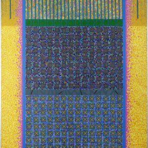 Sans titre, 1972. Denis Demers. Acrylique sur toile. 123,5 cm x 108 cm. © L'Artothèque