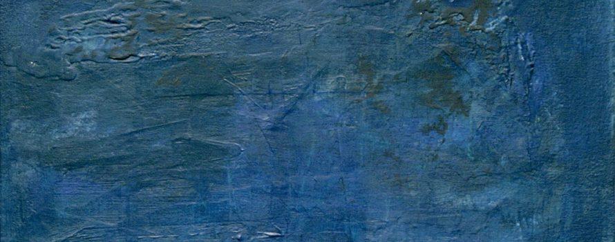 Bleu du ciel, 2005. Éric Laplante. Acrylique sur toile. 91,5 cm x 61 cm. © L'Artothèque