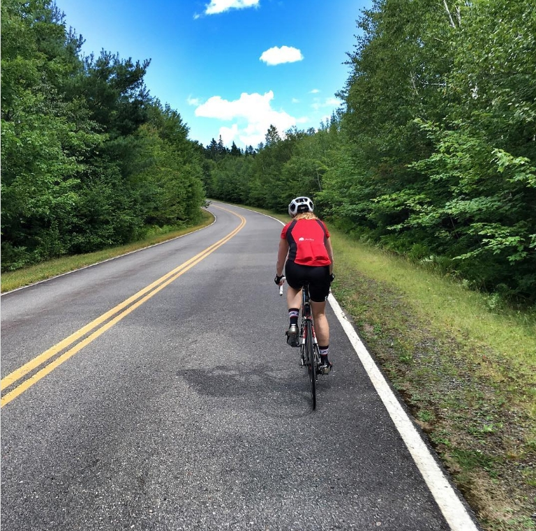 Vélo au parc national de la Mauricie. Photo: Brian Summers, Instagram