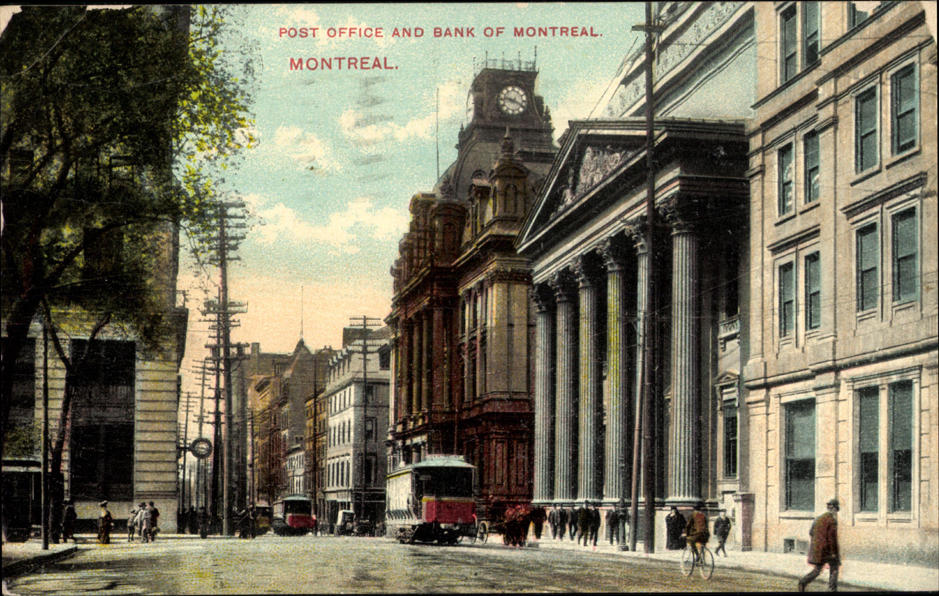 Montr al 375 ans et toujours aussi belle avenues - Bureau de poste montreal ...