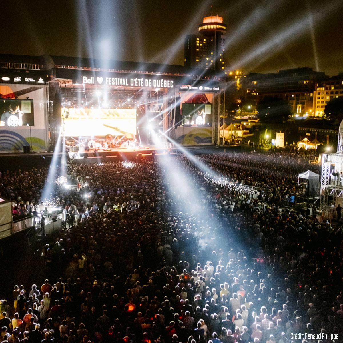Photo: Facebook Festival d'été de Québec