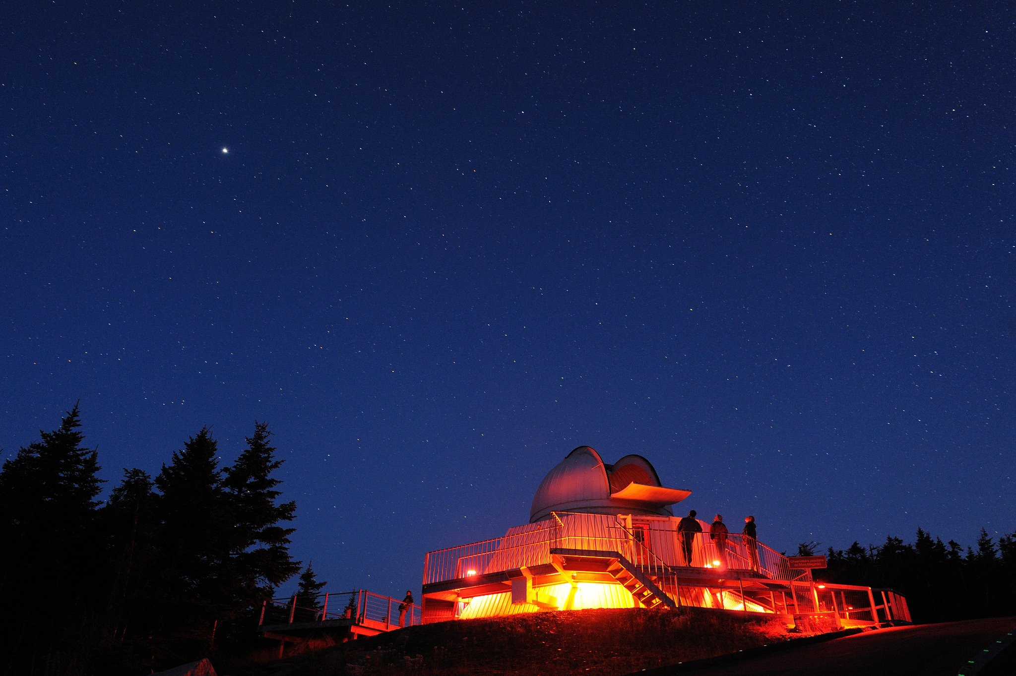 Photo: Facebook ASTROLab du parc national du Lac-Mégantic