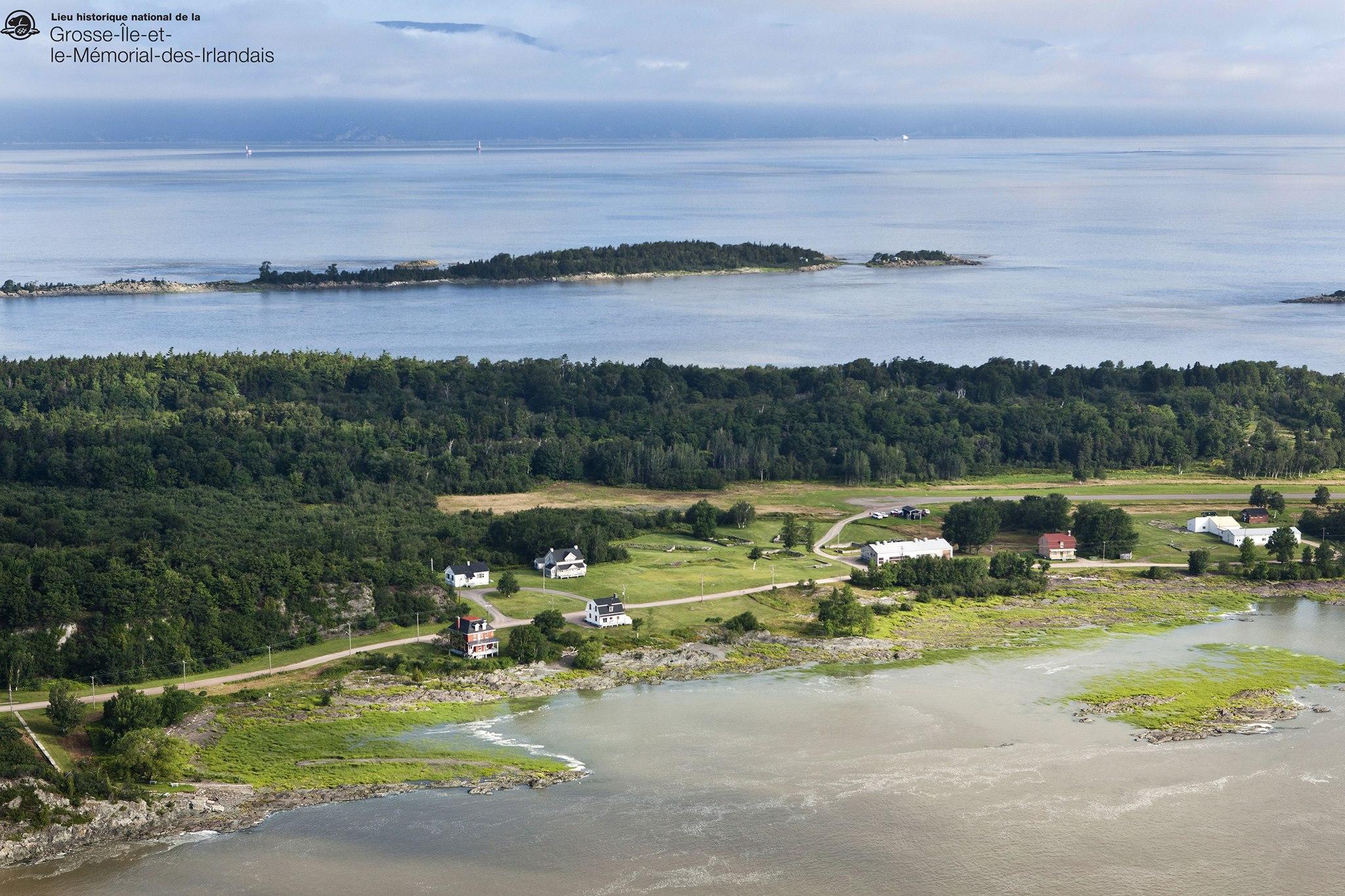 Photo: Facebook Lieu historique national de la Grosse-Île et le Mémorial des Irlandais