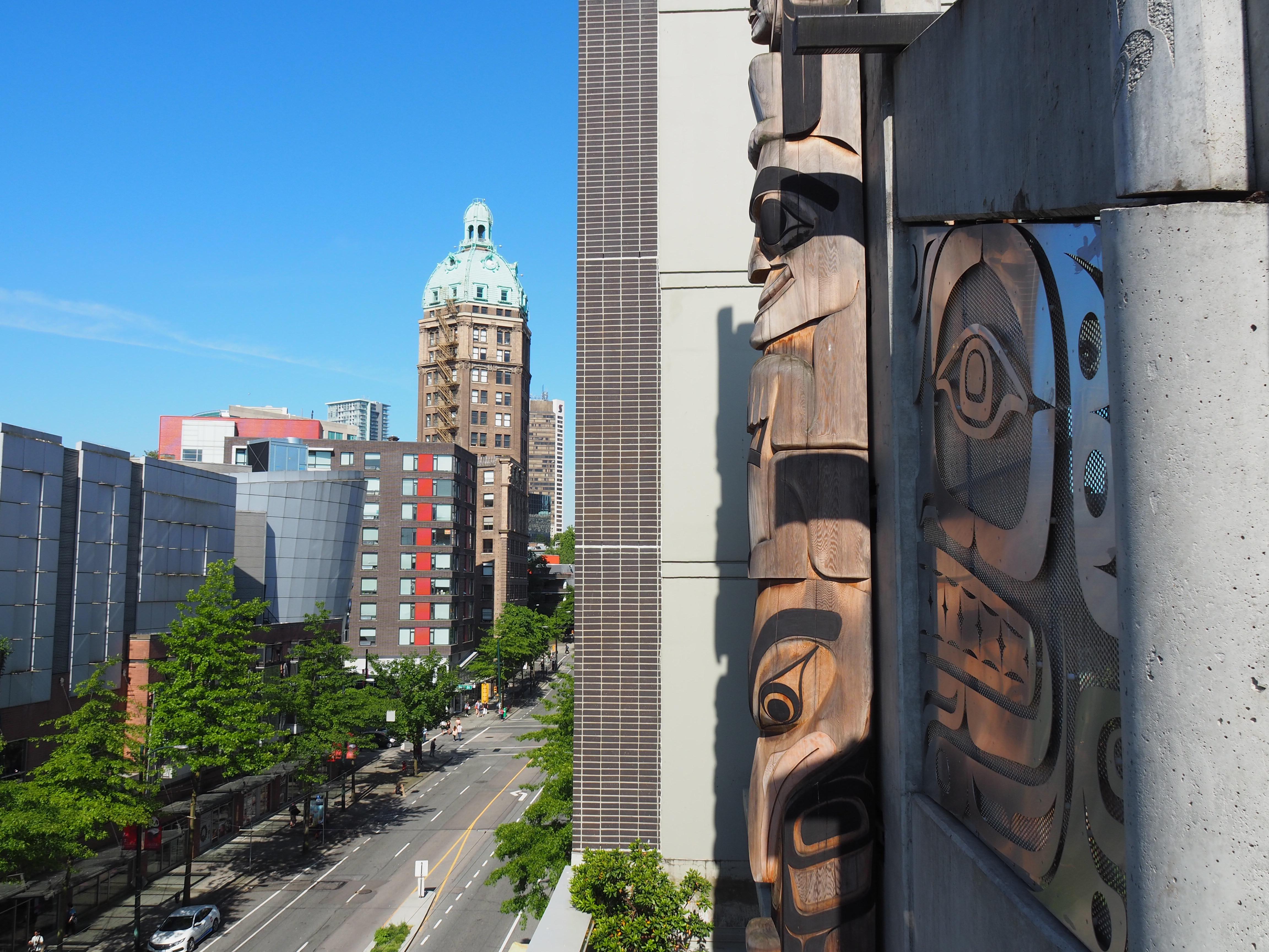 Photo: Marie-Julie Gagnon Présence de l'art autochtone